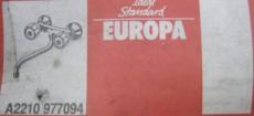 IDEAL STANDARD Europa Wandarmatur Küchenarmatur Spültischarmatur Chrom