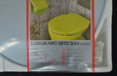ALLIBERT LUXUS S54 WC-Sitz Toilettensitz WC-Brille WC-Deckel Crocus