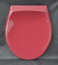 Pagette Avantgarde WC-Sitz Toilettensitz WC-Brille WC-Deckel RUBINROT