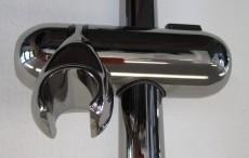 Trevi Deluxe Brausestange Duschstange 90 cm Aranja Edelmessing