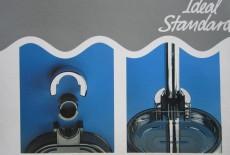 Trevi Deluxe Shampoobehälter Kunststoff-Schale Ablage Grau transparent
