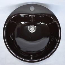 TEKA KW3 Einbauwaschbecken Einbau-Waschbecken Mocca-Braun 46,5cm
