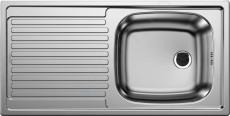 BLANCO TOP EES Spüle Einbauspüle Küchenspüle Edelstahl 86 x 43,5 cm