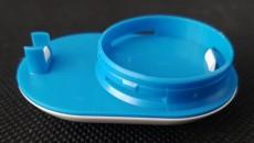 Ideal Standard DUALUX Abdeckkappe Weiss-Blau