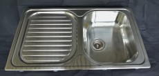 BLANCO PLUS 45S Spüle Einbauspüle Küchenspüle Edelstahl ohne Überlauf 86 x 50 cm