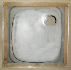 FRANKE Auflage-Spüle 50x50 cm Edelstahl