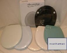 Abusanitair WC-Sitz Toilettensitz WC-Brille WC-Deckel MANHATTAN