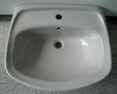 NOVO-BOCH Waschbecken Waschtisch MANHATTAN GRAU 60 x 50 cm