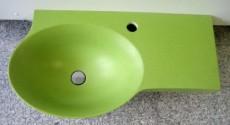 IDEAL STANDARD Guest Gäste-Waschbecken Bar Waschtisch Frosch-Grün 64 cm