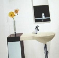 Ideal Standard Guest 21x27 cm L-Winkel Holzablage Nussbaum RO
