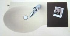 Ideal Standard Guest 21x27 cm L-Winkel Holzablage Nussbaum LO