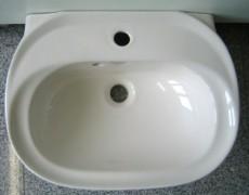 IDEAL STANDARD Inga Handwaschbecken MANHATTAN GRAU 50 x 38 cm