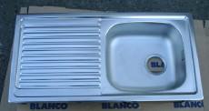 BLANCO TOP EES Spüle Spülbecken Einbauspüle Küchenspüle Edelstahl  86 x 43,5 cm - 3,5