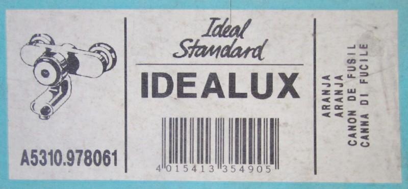 ideal standard idealux thermostat badewannenarmatur aranja spuelen. Black Bedroom Furniture Sets. Home Design Ideas