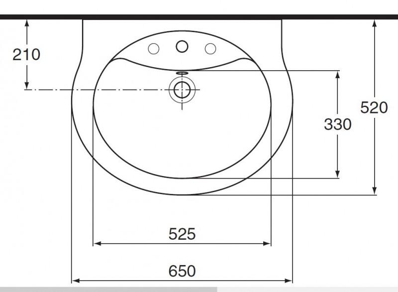 Waschtisch Mit 65 Cm Finest Waschbecken Cm Breite X Cm Tiefe