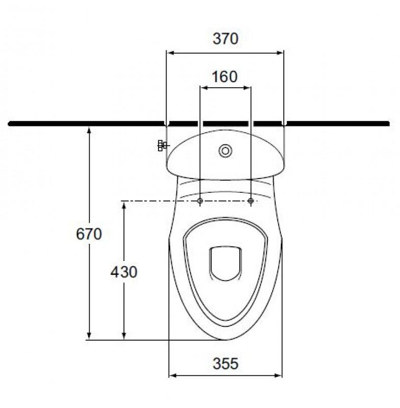 esprit kombination stand wc mit sp lkasten bahamabeige abgang boden spuelen. Black Bedroom Furniture Sets. Home Design Ideas