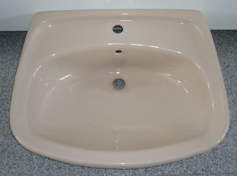 Novo Boch Waschbecken Waschtisch Bahamabeige 60x50 Cm Spuelen
