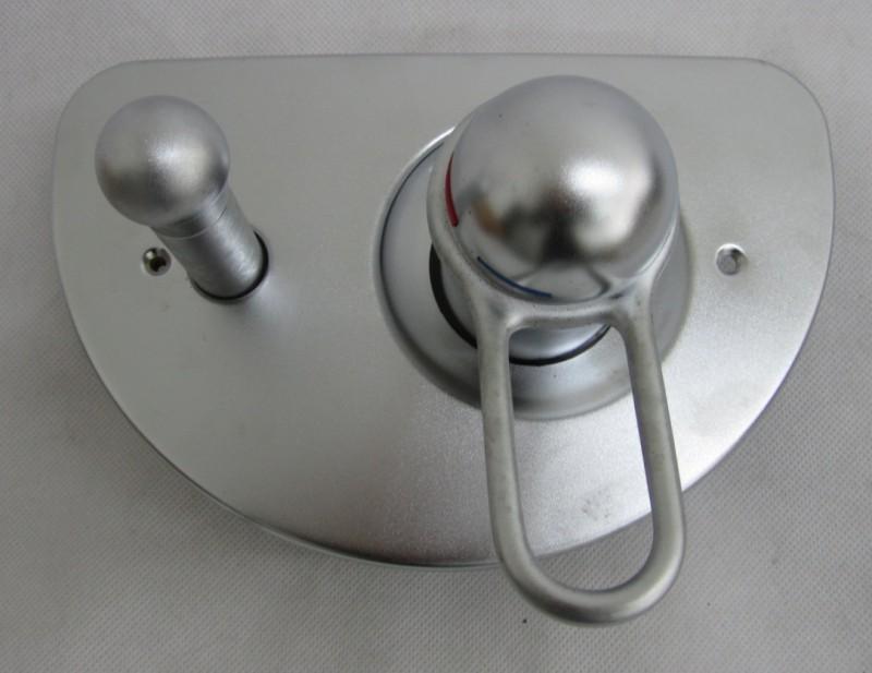 Ideal Standard Ceratop Unterputz Badewannenarmatur Edelmatt Chrom