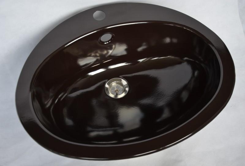 teka kw2 einbauwaschbecken einbau waschbecken mocca spuelen. Black Bedroom Furniture Sets. Home Design Ideas