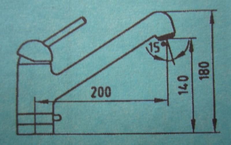 ideal standard meloh amico k chenarmatur niederdruck weiss mit ger teanschluss spuelen. Black Bedroom Furniture Sets. Home Design Ideas