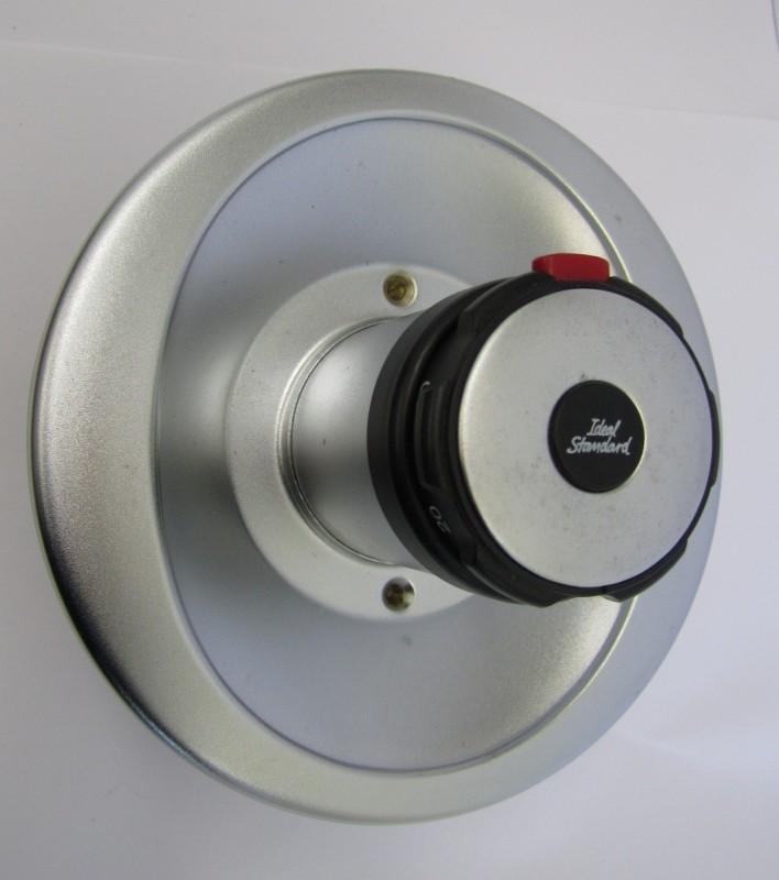 idealux thermostat unterputz armatur duscharmatur chrom matt edelmatt spuelen. Black Bedroom Furniture Sets. Home Design Ideas