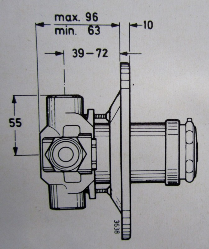 idealux thermostat unterputz armatur duscharmatur weiss spuelen. Black Bedroom Furniture Sets. Home Design Ideas