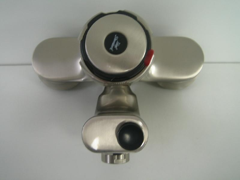 ideal standard idealux thermostat badewannenarmatur satin. Black Bedroom Furniture Sets. Home Design Ideas