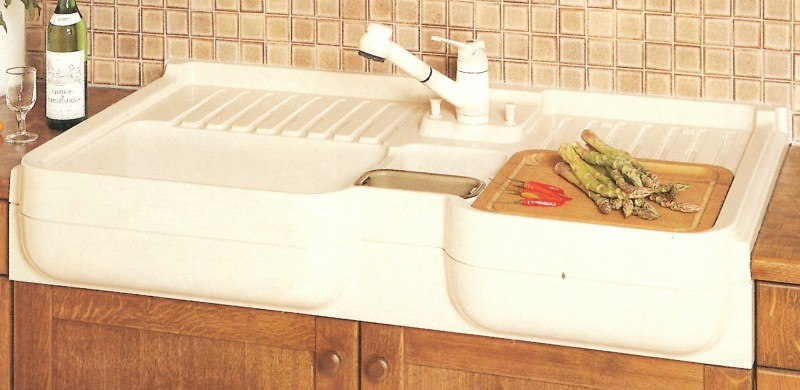 franke belinox system 2000 auflage sp le 120 x 60 cm weiss spuelen. Black Bedroom Furniture Sets. Home Design Ideas
