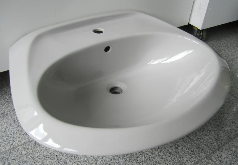 novo boch waschbecken waschtisch manhattan grau 67x54 cm. Black Bedroom Furniture Sets. Home Design Ideas