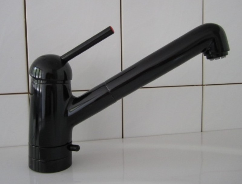 ideal standard meloh amico k chenarmatur niederdruck schwarz mit ger teanschluss spuelen. Black Bedroom Furniture Sets. Home Design Ideas
