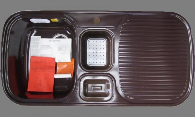 blanco multi box sp le mocca becken links 99 5x49 cm spuelen. Black Bedroom Furniture Sets. Home Design Ideas