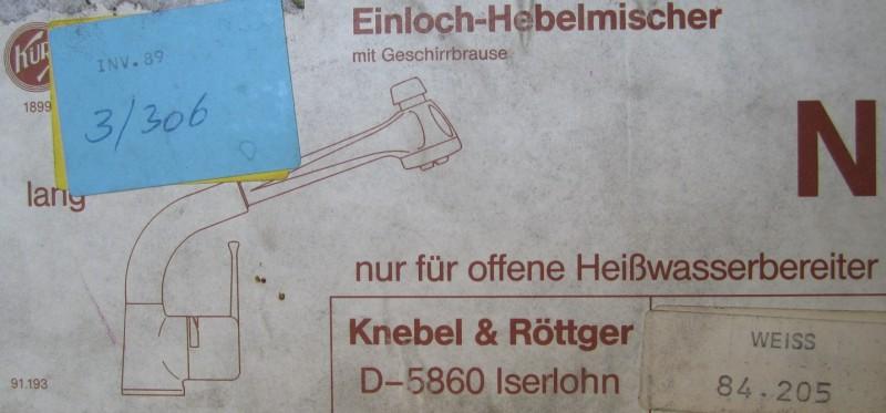 Gut KURI Küchenarmatur Spültischarmatur Niederdruck mit Brause Weiss  HE95