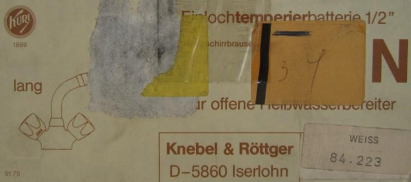 Gut KURI Küchenarmatur Armatur Spültischarmatur Niederdruck mit Brause  HE95