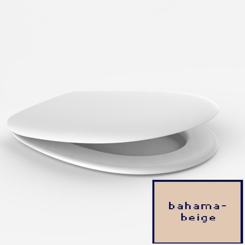sanit 1200 wc sitz toilettensitz wc brille wc deckel bahama beige spuelen. Black Bedroom Furniture Sets. Home Design Ideas