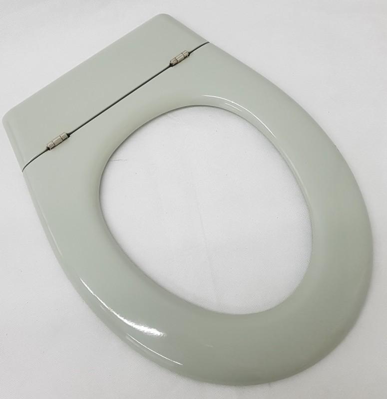 Hand Harofix Pressstoffsitz Wc Sitz Ohne Deckel Toilettenbrille Grau