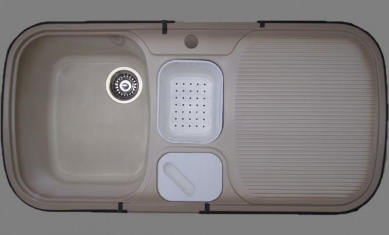 blanco multi box sp le cappuccino b l 99 5 x 49 cm spuelen. Black Bedroom Furniture Sets. Home Design Ideas