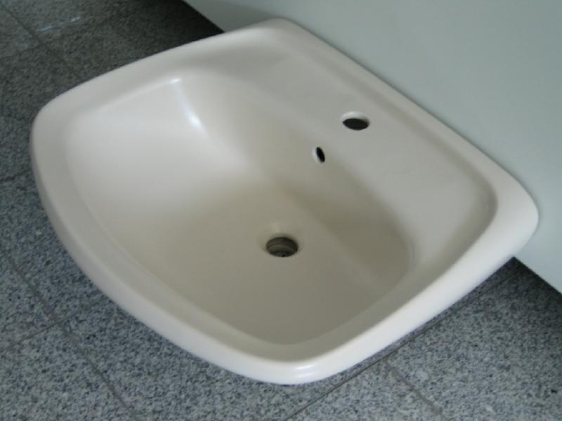 novoboch waschbecken waschtisch edelweissmatt 60 x 50. Black Bedroom Furniture Sets. Home Design Ideas