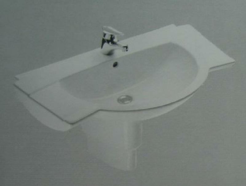 ideal standard aramis waschbecken waschtisch weiss 85 cm. Black Bedroom Furniture Sets. Home Design Ideas