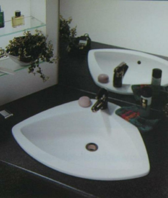 ideal standard butterfly einbauwaschbecken weiss 66 cm. Black Bedroom Furniture Sets. Home Design Ideas
