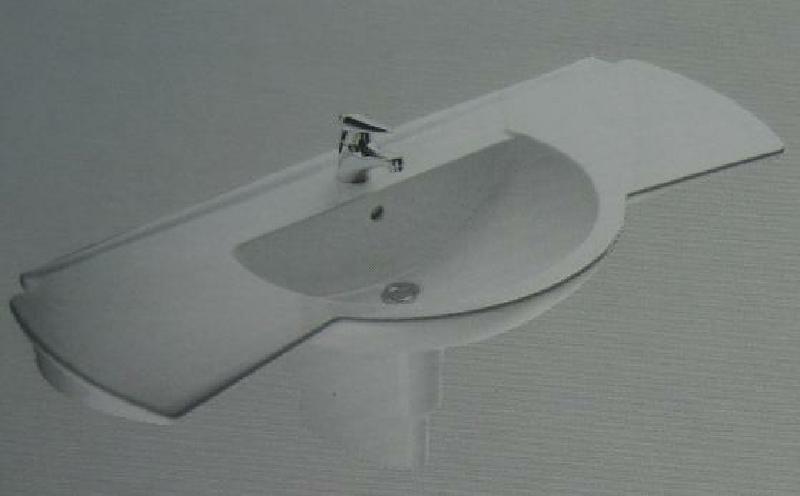 ideal standard castelli waschbecken waschtisch weiss 130. Black Bedroom Furniture Sets. Home Design Ideas