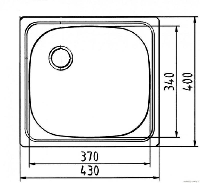 rieber e43 sp le sp lbecken edelstahl 43x40 cm spuelen. Black Bedroom Furniture Sets. Home Design Ideas