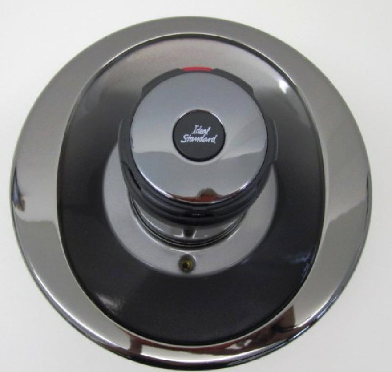 bausatz 2 idealux oberteile zentralthermostat unterputz. Black Bedroom Furniture Sets. Home Design Ideas