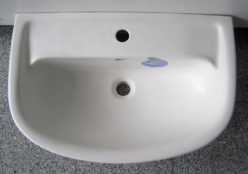 Keramag Renova Nr 1 Comprimo Waschtisch Waschbecken Edelweiss 60 X