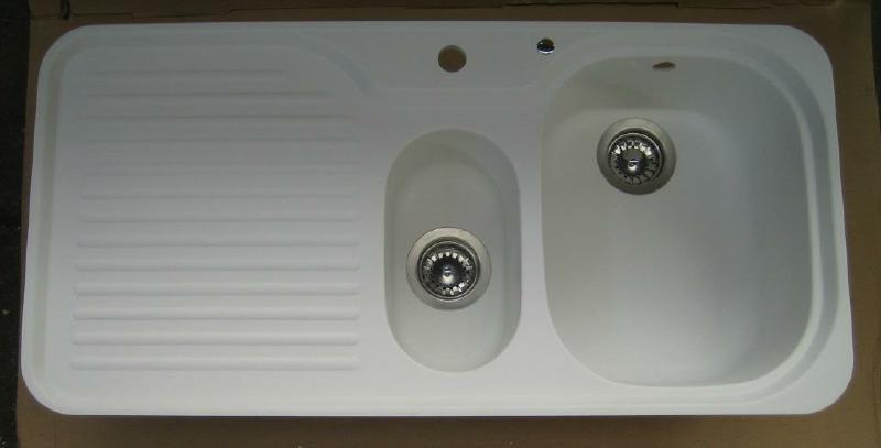 Suter C 100 Flachenbundige Spule 98 X 48 Cm Alpina Weiss Granit