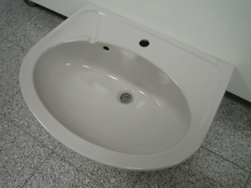 novo boch waschbecken waschtisch manhattan grau 65x50 5. Black Bedroom Furniture Sets. Home Design Ideas