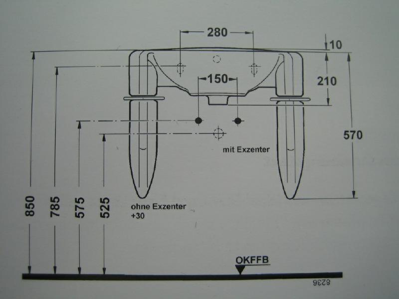 IDEAL STANDARD Waschbecken Waschtisch Bajade MANHATTAN-GRAU 65cm ... | {Waschbecken maße standard 99}