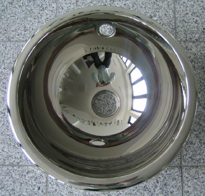 Einbauwaschbecken Edelstahl suter ronda einbau waschbecken edelstahl 37 5 cm spuelen king de