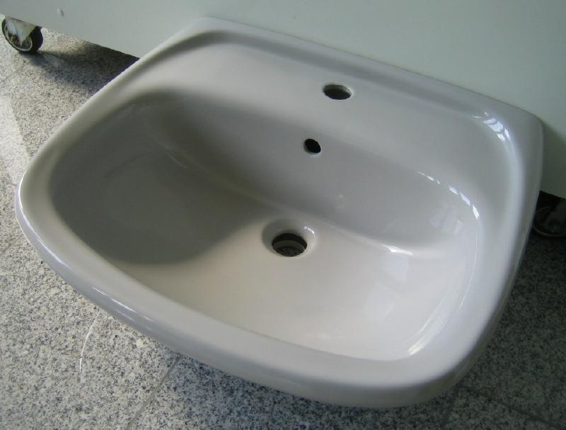 Novo Boch Handwaschbecken Waschtisch Manhattangrau 55 X 45 Cm