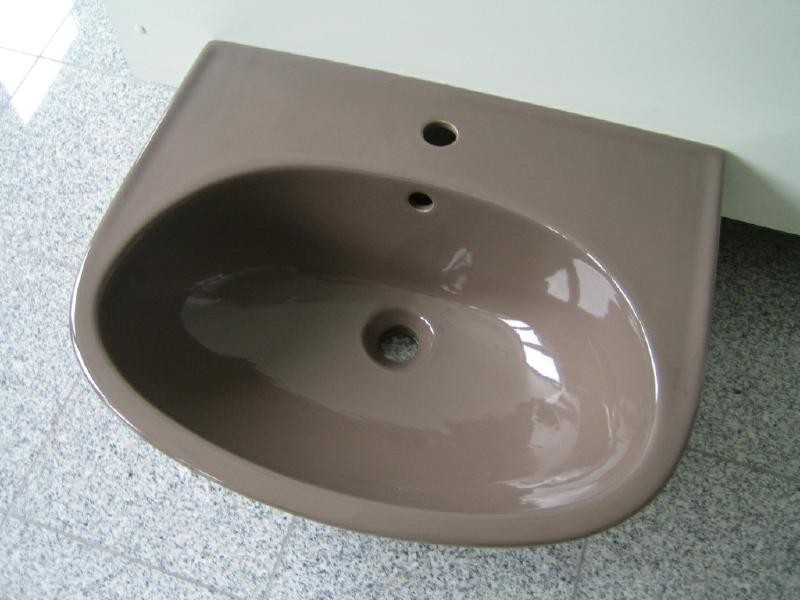 keramag waschbecken waschtisch 60x48 cm balibraun. Black Bedroom Furniture Sets. Home Design Ideas