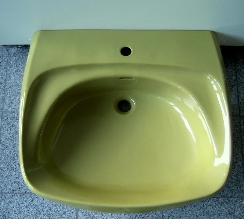 villeroy boch waschbecken waschtisch 70x60 cm moosgr n spuelen. Black Bedroom Furniture Sets. Home Design Ideas